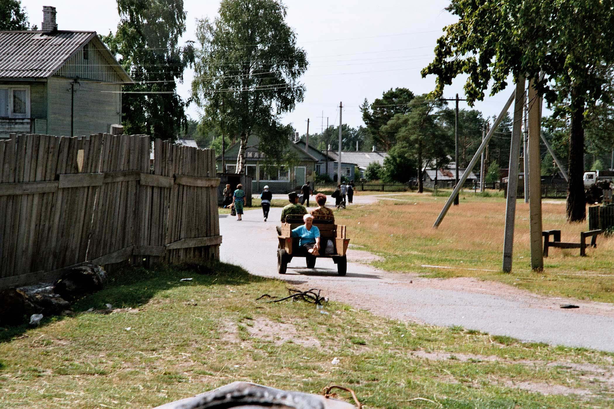 русские волосатки из деревни