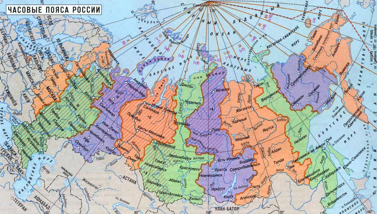 Европейскую часть россии занимает