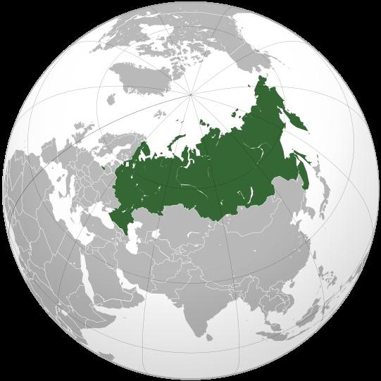 какую часть земли занимает россия в мире